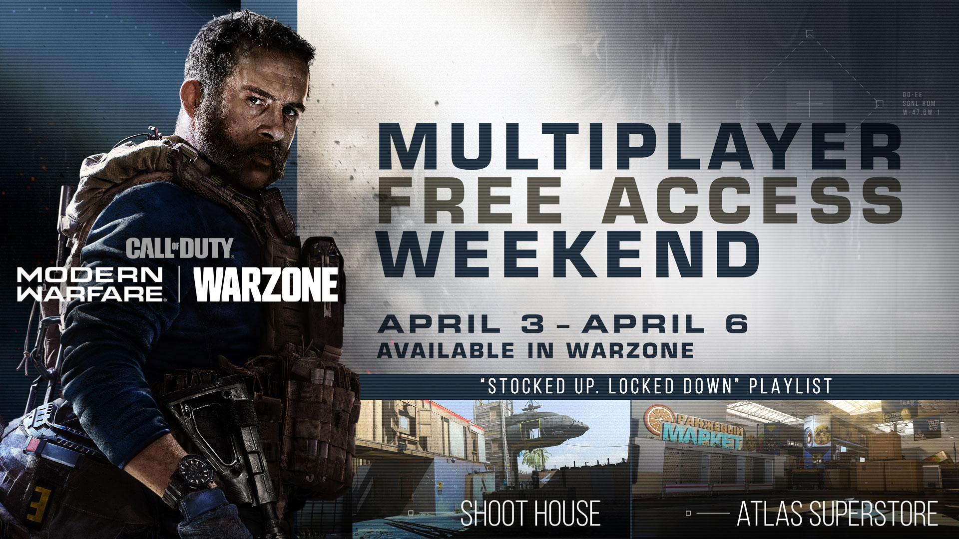 Modern Warfare Multiplayer Free Access Weekend