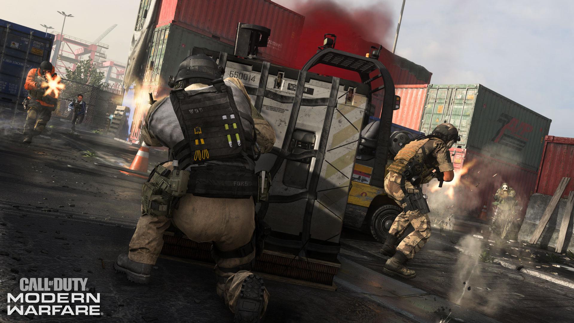 Call Of Duty: Modern Warfare nuova modalità Drop zone