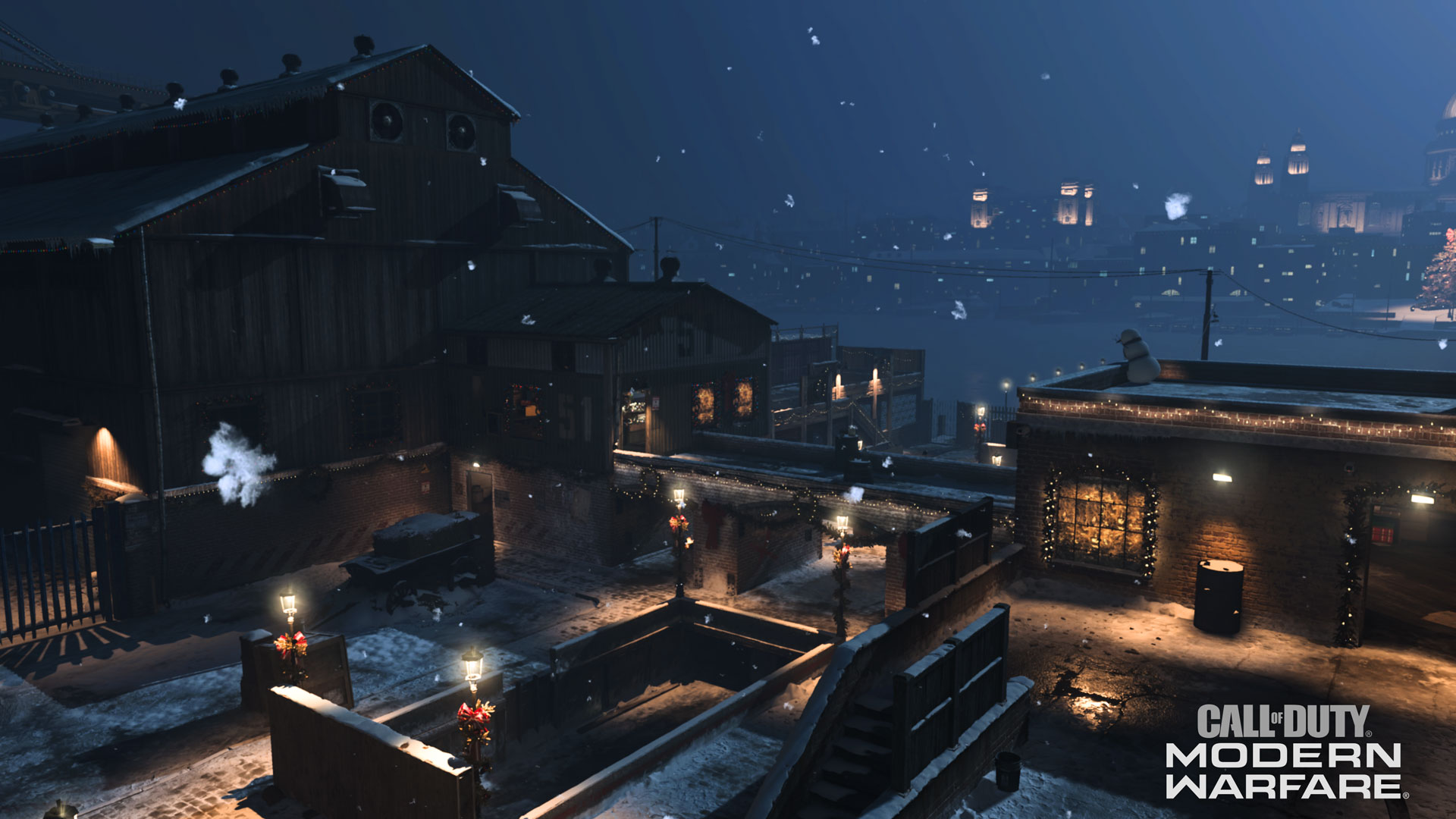 Modern Warfare Tactical Map Intel: Over Winter