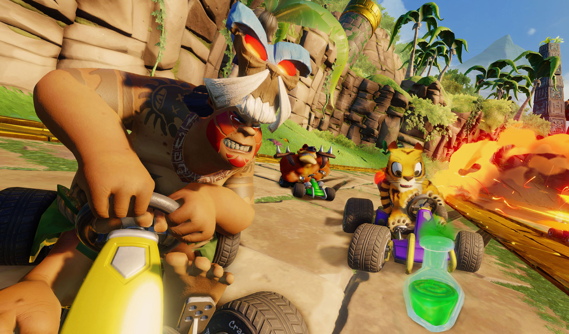 Announcement: Details of Crash™ Team Racing Nitro-Fueled Adventure