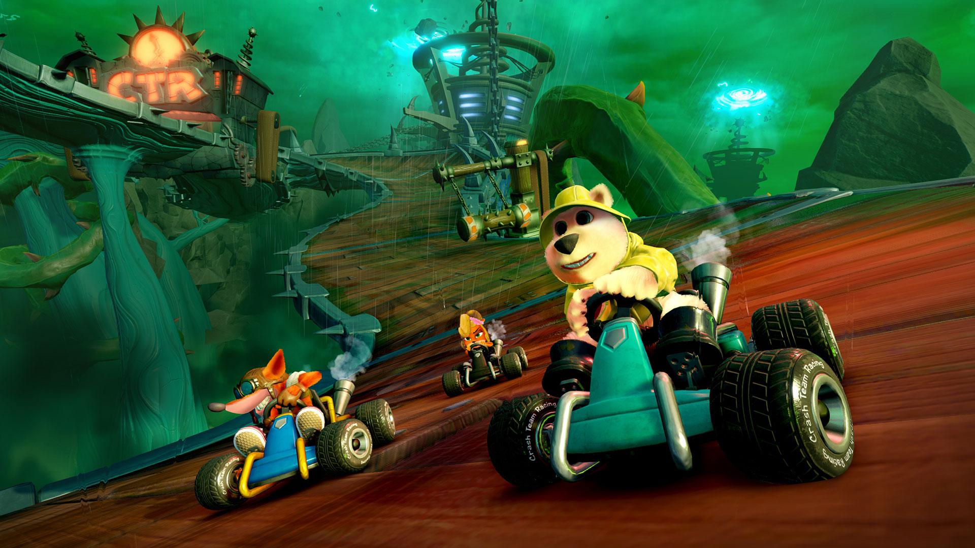 Bandicoots, start your engines! Crash™ Team Racing Nitro