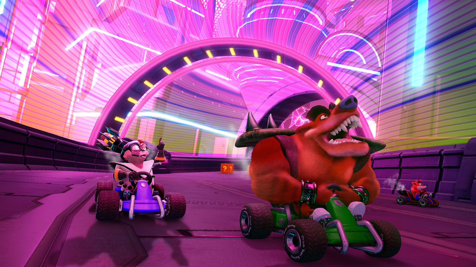 Crash™ Team Racing Nitro-Fueled Turbo Boosts into PAX East, Giving