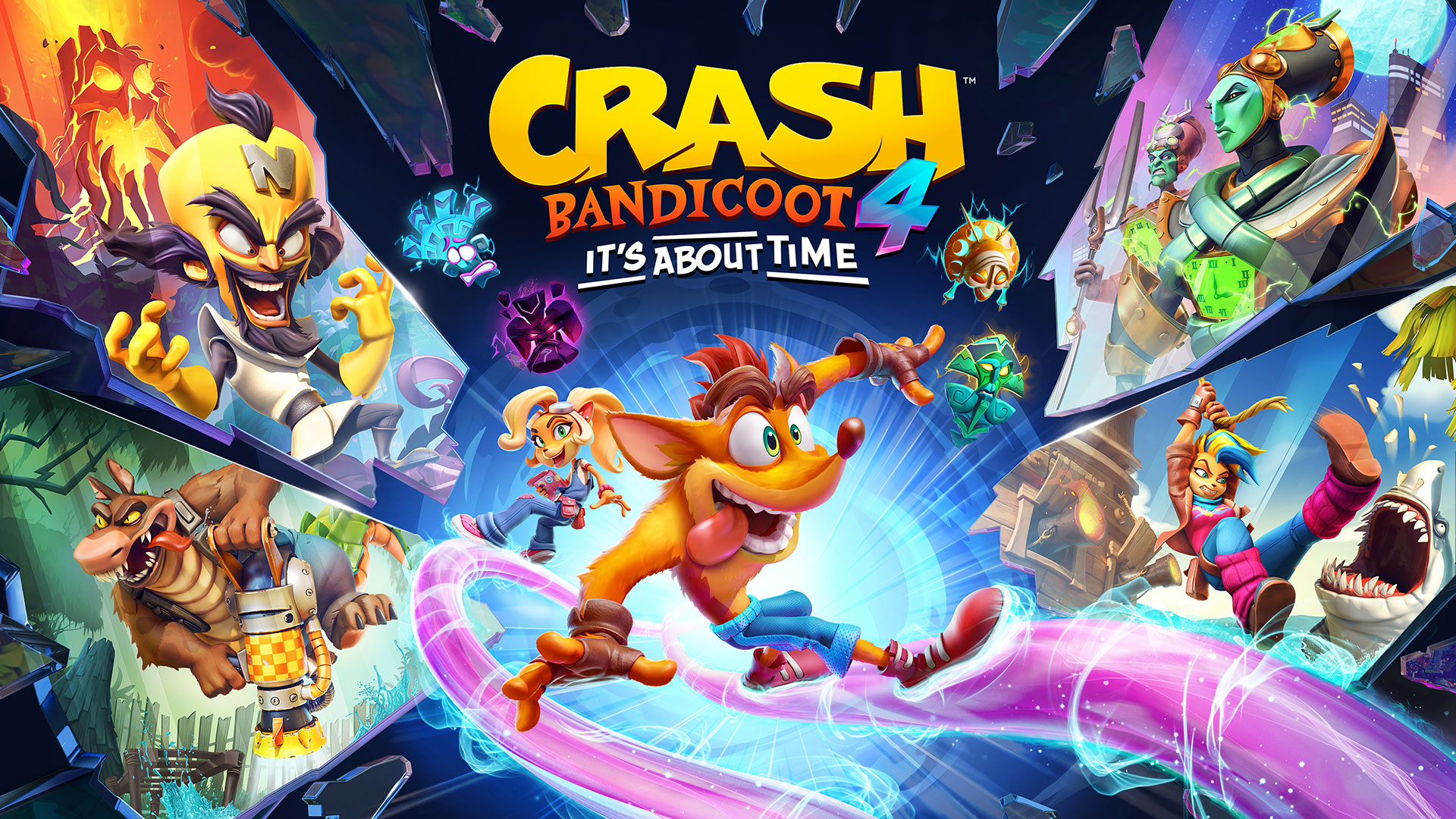 Crash Bandicoot 4 It S About Time Available Now Save The Multiverse In This New Original Adventure